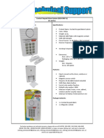 (ALM-006-YL)_Contact Keypad Alarm System