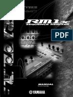 Yamaha Rm1x [Manual]