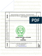 online mba syllabus human resource management marketing