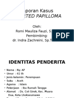 Laporan Kasus Invertes Papilloma