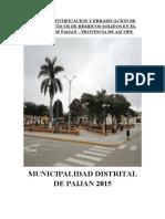 Plan de Identificacion y Erradicacion de Puntos Criticos de Residuos Solidos en El Distrito de Paijan