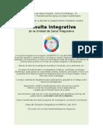 Atenta Invitación Consulta Integrativa