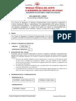 Ecuaciones Diferenciales Msc. g. Palacios