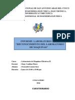 Laboratorio de Maquinas 2 Informe Final Labo 1