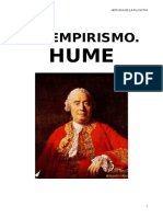El Empirismo. Hume