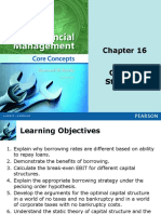 Capital Structure Finacial Concept Brooks ppt
