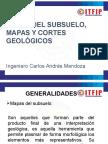 Mapas Del Subsuelo, Mapas y Cortes Geológicos