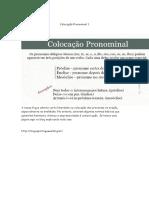 Colocação Pronominal 1
