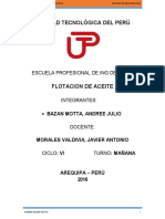 FLOTACION DE ACEITES