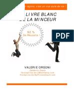 Le Livre Blanc Minceur Coaching