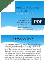 FINAL Industry Analysis Sapm
