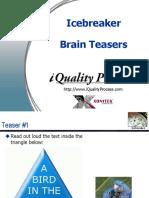 Brainteaser Quiz