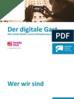 Der Digitale Gast - TRAVELTALK Friedrichshafen 2016