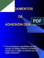 Fundamentos de Adhesion 1