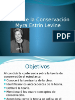 Teoria de La Conservacion