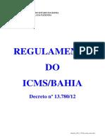 RICMS Bahia 2012