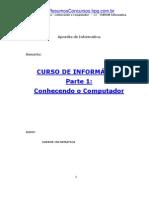 Informática - Apostila de Informática - Curso 01