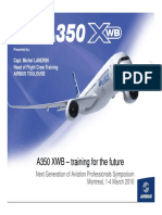 A350 XWB Training for the Future