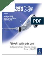A350 XWB Training for the Future