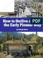How to Outlive an EMP the Early Pioneer Way