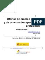 Boletin_Convocatorias_Empleo (Semana Del 01.11.2016 Al 07.11.2016)