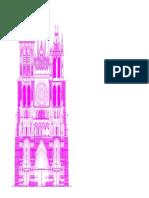 vista catedral de notre dame de amiens