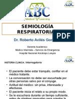 Semiología Respiratoria i Ok