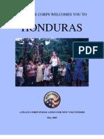Peace Corps Honduras Welcome Book  |  May 2009
