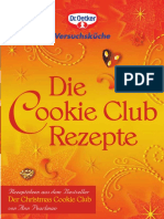 Droetker Rezeptheft Cookie Club