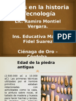 Etapas en La Historia de La Tecnología