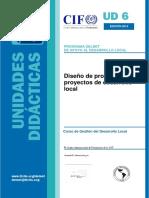 Diseno de Programas y Proyectos de Desarrollo Local