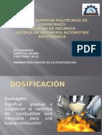 Parametros Fisicos Dosificacion