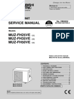 Mitsubishi Electric MUZ-FH VE Service Manual Eng