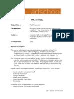 Print Production Course Outline Incl Asses (2)