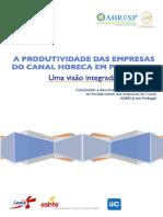 AHRESP_Est Produtividade_Conclusoes e Recomendacoes