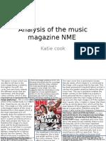 Analysis of the Music Magazine NME