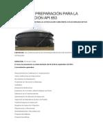 Curso de Preparacion Para La Certificación API 653