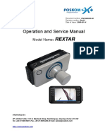 REXTAR User and Service Guide