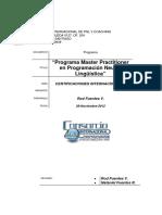 Program a Master Practitioner