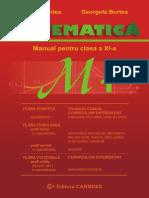 Manual Matematica Clasa XI M1 BURTEA