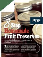 8 Step Homemade Fruit Preserves