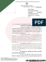 Confirman el embargo de los casi 5 millones de dólares de Florencia K
