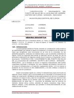 Memoria Descriptiva p.s. Carrera-1