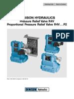 Proportional Pressure Relief Valve R4V DENISON