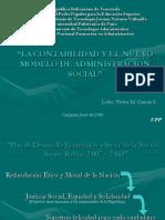 La Contabilidad y El Nuevo Modelo de Administracion Social