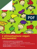 Opuscolo Bambini Vegan Svezzamento Ricette Low