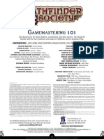Pathfinder - GM 101