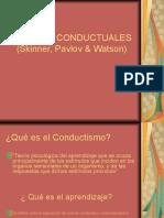 Teorias conductistas