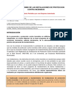 Programa de Mantenimiento PCI y Actas Revision