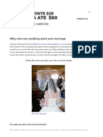 Why Men Are Avoiding Work and Marriage _ Fabius Maximus Website